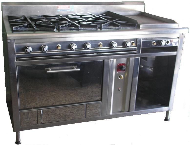 Equipos de cocci n centrogas for Accesorios para cocina a gas